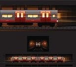 Subway Station,Subway Train,Train,Tunnel,Station,Underground,Railroad Track,Car,Railroad Car,Tube,Locomotive,Wheel,Public Transportation,Railing,Side View,Covered Wagon,Front View,Night,Electricity,Toy Wagon,Commuter Train,Vector,Transportation,Dark,Looking At View,Modern,Back - Furniture Part,Suburb,Mode of Transport,Passenger,Power Line