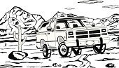 4wd,Trophy,Ilustration,Wild West,Driving,Challenge,4x4,People Traveling,Landmarks,Extreme Sports,Discovery,Tourism,Exploration,Off-Road Vehicle,Travel Locations,Transportation,Mountain Range,Activity,Vacations,Outdoors,Adventure