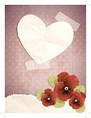 Silhouette,Heart Shape,Paper,Adhesive Tape,Backgrounds,Leaf,Brown Paper,Transparent,Spotted,Elegance,Season,Old-fashioned,Faded,Valentine Card,Beauty In Nature,Pansy,Antique,Ornate,Valentine's Day - Holiday,Crumpled,Pink Color,Note,Decoration,Pink Background,Textured,Distressed,Eps10,Nostalgia,Holidays And Celebrations,Valentine's Day,Red Background,Illustrations And Vector Art,Green Color,Single Flower,19th Century Style,Vector,Polka Dot,Retro Revival,Wild Pansy,Springtime,Love,Beige,Beautiful,Damaged,Grunge,EPS 10,Flower,Maroon,editable,Vector Backgrounds,Red,Victorian Style,Nature,Romance,Flowers,Copy Space