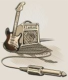 Amplifier,Rock and Roll,Guitar,Musical Instrument,Music,Interconnect,Drawing - Activity,Retro Revival,Electric Guitar,Sound,Audio Equipment,Pastel Colored,Graffiti,Drawing - Art Product,Recording Studio,Modern Rock,Gray,Copy Space,Arrow Symbol,Speaker,Vector,Funky,Arts And Entertainment,Cool,Design,Popular Music Concert,Musical Instrument String,Modern,Vector Cartoons,Illustrations And Vector Art,Black Color,Modern Music,Ilustration,Music,Youth Culture