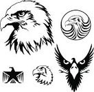 Eagle - Bird,Silhouette,Circle,Retro Revival,Bird,Tattoo,Outline,Animal,Symbol,Claw,Wing,Coat Of Arms,Sign,Insignia,Ornate,Set,Cartoon,Vector,Flying,Profile View,Feather,Star Shape,Beak,Medieval,Graffiti,Majestic,Ancient,Renaissance,Tail,Drawing - Art Product,Baroque Style,Standing,Courage,Digitally Generated Image,Vector Ornaments,Mythology,Art,Ilustration,Modern,Candid,Computer Graphic,Design,Decoration,Birds,Nobility,Illustrations And Vector Art,Growth,Abstract,Arts And Entertainment,Monster,Animals And Pets,Plan,Black Color,Swirl,Arts Symbols,Old,Symmetry