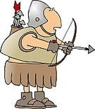 Archery,Roman,Suit of Armor,Army,Arrow,Bow,Quiver,Work Helmet,handcarves,Sports And Fitness,People,Uniform,War,Men,Male,Military