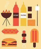 Barbecue Grill,Hot Dog,Flavored Ice,Summer,Barbecue,Burger,Garden Party,Marshmallow,Cold - Termperature,Ketchup,Stick - Plant Part,Grilled,Mustard,Kebab,Flame,Chocolate,Cookie,Sausage,Food,Meat,Ice,Cooking,Junk Food/Fast Food,Homemade,Cooked,Cool,Tomato,Spice,Gourmet,Dessert,Food And Drink,Smoke - Physical Structure,Sauces,Beef,Cheese,Sweet Food,Heat - Temperature,Season