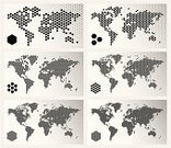 Globe - Man Made Object,World Map,Map,Cartography,Planet - Space,Earth,Spotted,Global Communications,Global Business,Vector,Global,Hexagon,Pixelated,USA,Technology,Pattern,Backgrounds,Asia,Abstract,Europe,Digitally Generated Image,Halftone Pattern,Futuristic,countries,Mosaic,Polka Dot,Unity,Design,Design Element,Arranging,Elegance,Dividing,Set,Ideas,Part Of,The Americas,Facet,Separation,state,Technology,Sharing,Business Backgrounds,Computers,Division,subdivision,Technology Backgrounds,Concepts,Business