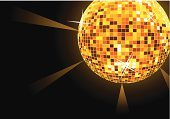 Disco Ball,Elegance,Backgrounds,Disco,Nightclub,Computer Graphic,Circle,Bright,Party - Social Event,Illuminated,Illustrations And Vector Art,Shiny,Ilustration,Vector,Vector Backgrounds,No People,Abstract,Lighting Equipment,Exploding