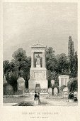 Paris - France,Antique,Old-fashioned,General,Place of Worship,Memorial,Art,Tomb,Tombstone,Monument,Mausoleum,Art And Craft,Pere Lachaise Cemetery,French Culture,History,Victorian Style,Cemetery,Local Landmark,Grave,Famous Place,Architecture And Buildings,Europe,The Past,Engraved Image,Ilustration,Image Created 19th Century,Public Building,Pere Lachaise,Man Made Structure,European Culture,Capital Cities,19th Century Style,France,Built Structure,Old,Styles,Cultures,Monuments,Architecture,Travel Locations,National Landmark,Place of Burial