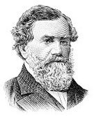 Ilustration,Fame,Engraved Image,One Person,History,Isolated On White,Cyrus Mccormick,Name Of Person,People,Inventor,White Background,Portrait,Painted Image,Grayscale,Pencil Drawing