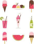 Ice Cream,Ice Cream Sundae,Flavored Ice,Computer Icon,Symbol,Ice Cream Parlor,Melting,Drinking Straw,Soda Bottle,Soda,Summer,Glass,Watermelon,Icon Set,Strawberry,Ice Cream Cone,Party - Social Event,Spoon,Chocolate,Cafe,Cherry,Vibrant Color,Yellow,Vector Icons,Lime,Crockery,Bubble,Design,Sorbet,Italian Soda,Food And Drink,Holidays And Celebrations,Pink Color,Parties,Ilustration,Lemon,Brown,Green Color,Illustrations And Vector Art,Raspberry