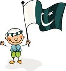 Pakistani Culture,Child's Drawing,Flag,Pakistan,Classroom,Symbol,Cheerful,Child Drawing,Child,Cartoon,Smiling,Happiness