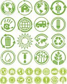 Alternative Energy,Symbol,Green Color,Environment,Recycling Symbol,Recycling,Seal - Stamp,Sign,Earth,Vector Icons,Nature,Nature,Concepts And Ideas,Illustrations And Vector Art
