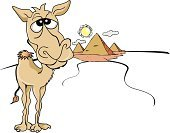 Camel,Egypt,Sunlight,Sun,Humor,Ilustration,The Past,Cairo,Tomb,Dry,Art Product,Monument,Egyptian Culture,Archaeology,Outdoors,Isolated,Travel Backgrounds,Illustrations And Vector Art,Brown,Journey,Adventure,Heat - Temperature,Animal,Pyramid Shape,Tourism,Vector,Color Image,Travel Locations,Old Ruin,Travel,Pyramid,Paintings,Animals And Pets,Summer,Giza,Famous Place,Desert