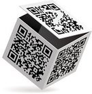 Bar Code,QR Code,Coding,Box - Container,Packaging,Crate,Bar Code Reader,Symbol,Data,Qr-code,Abstract,Label,Security Code,Cardboard,Ilustration,Illustrations And Vector Art,Technology,Isolated Objects,rendering,Technology