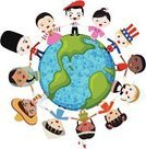 Child,Earth,Global Communications,Cultures,Multi-Ethnic Group,Indigenous Culture,Planet - Space,People,Ethnicity,Chinese Ethnicity,Holding Hands,Little Boys,China - East Asia,Asia,Asian Ethnicity,Ethnic,France,England,Costume,Traditional Clothing,USA,Women,Earth Day,Period Costume,Dress,Native American,Cheerful,Happiness,Indian Ethnicity,Clothing,African Descent,Real People,Germany,Smiling,Friendship,Relationships,Cute,People,Japanese Culture,Little Girls,German Culture,American Culture,Arts Backgrounds,Arts And Entertainment,Group Of People,Ilustration,Lifestyle,Japanese Ethnicity,Peace On Earth,Africa,Togetherness,Teenage Girls