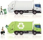 Garbage Truck,Recycling,Garbage,Truck,Sanitation Worker,Recycling Symbol,Bin/tub,Land Vehicle,Semi-Truck,Industrial Garbage Bin,Cart,Recycling Bin,Men,Garbage Can,Symbol,Computer Icon,Ilustration,Manual Worker,Environment,Environmental Conservation,Green Color,Icon Set,Wheeled Garbage Can,Occupation,Reflective Clothing,Transportation,Transportation Occupation,Vector,Industry,Clean,Vector Icons,Working,Disposal Container,Transportation,Bin Motor,Illustrations And Vector Art,Green Bin,White,Male,Service Occupation