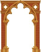 Arch,Church,Architectural Column,Gate,Stone Material,Ornate,Gothic Style,Cathedral,Architecture,Decoration,Large,Old-fashioned,Ilustration,Entrance,Medieval,Entrance,Door,Illustrations And Vector Art,History,Classical Style,Single Object,Part Of,Backgrounds,Architectural Detail,Elegance,Isolated,Vector Backgrounds,Built Structure,Decorating,Style,Placard,Cultures,Classic,Christianity,Brick,Old,Art,Architecture And Buildings,European Culture,Architecture Backgrounds,Poster,Antique