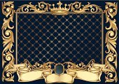Frame,Gold,Backgrounds,Coat Of Arms,Gold Colored,Blue,Scroll Shape,Banner,Baroque Style,Victorian Style,Ornate,Decoration,Placard,Vector,Elegance,Symbol,Majestic,Shield,Crown,Pattern,filigree,flourishes,Retro Revival,Shiny,Antique,Copy Space,Rectangle,Deco,Curve,Insignia,Vignette,Design,Vector Ornaments,Abstract,Sign,Vector Backgrounds,Clip Art,Blank,Illustrations And Vector Art,Ribbon,Luxury,Cartouche,Classical Style,Yellow,Old-fashioned,Swirl,Curled Up