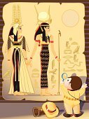 Egypt,Hieroglyphics,Adventure,Women,Cartoon,Mystery,Princess,Research,Reading,Decoration,Glass - Material,Hat,Studying,Sign,Vector Cartoons,Illustrations And Vector Art,Dress,Backpack,Single Step,Symbol,Uniform,People,Wall,Christmas Decoration,Papyrus Paper,Little Boys,Goddess