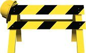 Construction Site,Roadblock,Construction Barrier,Symbol,Road Sign,Sign,Isolated On White,Warning Sign,Work Helmet,Industry,Shadow,Construction,Illustrations And Vector Art,Forbidden,Objects/Equipment,Industrial Objects/Equipment,Road Warning Sign,Working,Yellow,Safety,Black Color