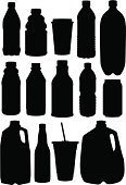 Bottle,Milk Bottle,Gallon,Milk,Silhouette,Juice,Drinking Water,Can,Recycling,Energy Drink,Soda,Drink,Groceries,Merchandise,Container,Drinking,Supermarket,Vector,Dairy Product,Ilustration,Cup,Coffee - Drink,Refreshment,Food And Drink,Thirsty,Disposable,Drinks,Store,Consumerism,Concepts And Ideas,Illustrations And Vector Art,Shopping,Retail
