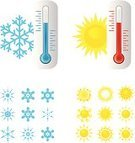 Heat - Temperature,Cold - Termperature,Symbol,Thermostat,Thermometer,Sun,Sunlight,Snowflake,Snow,Winter,Frozen,Icon Set,Meteorology,Red,Single Object,String,Ilustration,Blue,Season,Weather,Remote,Illustrations And Vector Art,Liquid,Vector,Instrument of Measurement,Vector Backgrounds,Isolated,Control