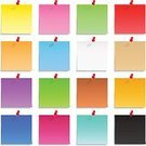 Adhesive Note,Note,Note Pad,Checklist,Orange Color,Blue,Paper,Pink Color,Bulletin Board,Mail,Office Supply,Set,Isolated,Thumbtack,Reminder,Blank,Yellow,White Background,Illustrations And Vector Art,Sheet,Todo List,List,Red,Isolated On White,Attached,Stationary,Objects/Equipment,Isolated Objects,Message