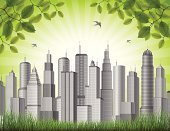 Environmental Conservation,Business,Green Color,Office Building,Architecture,New York City,Environment,Plant,Bird,Real Estate,Apartment,Urban Skyline,City,Modern,Urban Scene,Growth,Cityscape,Leaf,Built Structure,Nature,Backgrounds,Flying,Vector,Housing Development,Blue,City Life,Building Exterior,Horizontal,Sky,USA,Frame,Skyscraper,Construction Industry,Town,Grass