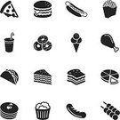 Symbol,Computer Icon,Sandwich,Fast Food Restaurant,Icon Set,Fast Food,Pancake,Silhouette,Taco,Food,Take Out Food,Chicken Leg,Meatball,Convenience,Pie,Donut,Hamburger,Vector,Cake,Ice Cream,Pizza,French Fries,American Cuisine,Sausage,Drinking Straw,Clip Art,Grilled Meatballs,Popcorn,Fried,Vector Icons,Toast,Fried Chicken,Hot Dog,Drink,Ice Cream Cone,Design Element,Dessert,Isolated Objects,Cherry,Illustrations And Vector Art,Food And Drink,Ilustration,Isolated On White,Design,White Background,Grilled,Chicken - Bird,Junk Food/Fast Food
