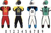 American Football - Sport,Sports Uniform,Shirt,Pants,Vector,Sports Helmet,Sports Clothing,Household Objects/Equipment,Team Sports,Ilustration,Vector Backgrounds,Drawing - Art Product,Sports And Fitness,Objects/Equipment,Illustrations And Vector Art,Clothing,Sports Team,Design,Sport
