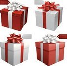 Bow,White,Box - Container,Gift,Red,Holiday,Valentine's Day - Holiday,Celebration,Honeymoon,Ilustration,Vector,Christmas,Holidays And Celebrations,Engagement,Ribbon,Birthdays,Holiday Symbols,Isolated On White,Birthday,Wedding,Christmas