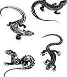 Lizard,Salamander,Indigenous Culture,Vector,Reptile,Iguana,Symbol,Chameleon,Silhouette,Tattoo,Cartoon,Black Color,Sign,Outline,Monster,Illustrations And Vector Art,Curled Up,Zoo,Creativity,Tail,Ilustration,Characters,Ornate,Reptiles,Vertebrate,Animal Skin,Curve,Nature,Abstract,Decoration,Isolated,Animal Scale,Wildlife,Design Element,Part Of,Animals And Pets,Animal,Amphibian,Design,Shape,Animals In The Wild