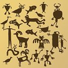 Cave Painting,Native American,North American Tribal Culture,Hieroglyphics,Archaeology,Indigenous Culture,Owl,Phoenix - Mythical Bird,Goat,Primitivism,Fish,Drawing - Art Product,Painting,Rock - Object,Prehistoric Era,Women,Ancient,Snake,Sheep,Bird,Cultures,Men,Graffiti,Ilustration,Origins,Carving - Craft Product,Paintings,mimbres,Antiquities,Painted Image,Drawing - Activity,The Past,Ceremonial Dancing,Human Fertility,Paganism,Man Made Object,Traditional Ceremony,Ceremony,handcarves,vector illustration,Illustrations And Vector Art,People,Arts And Entertainment,Visual Art