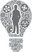 CEO,Innovation,Outsourcing,Teamwork,Technology,Business,Business Person,Symbol,People,Computer Icon,Black And White,Light Bulb,Icon Set,Determination,Occupation,Gear,Leadership,Ideas,Abstract,Stick Figure,Brainstorming,Equipment,Partnership,Vector,Support,Wheel,Machinery,Businessman,Global Business,Turning,Multi-Tasking,Concepts,Adult,Office Worker,Computer Graphic,Inspiration,Interface Icons,gearing,Administrator,Simplicity,Solution,Machine Part,Imagination,Busy,Moving Up,Digitally Generated Image,Concentration,Business Relationship
