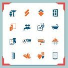 Boiler,Symbol,Water Heater,Plumber,Parquet Floor,Repairing,Icon Set,Air Conditioner,Window,Door,Paintbrush,Tiled Floor,Home Interior,Electricity,Domestic Bathroom,Building - Activity,Construction Industry,Lighting Equipment,Appliance,Sign,Wash Bowl,Tile,Service,Gas Boiler,Toilet,Brick,Industry,Vector,Faucet,Bathtub,Electric Plug,Tap,Water,Light Bulb,home renovation,Improvement,Work Tool,Business Symbols/Metaphors,Vector Icons,Equipment,Homes,Business,Paint Roller,Switch,Art,Ilustration,Architecture And Buildings,Illustrations And Vector Art,Paint,bathroom tiles