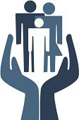 Protection,Human Hand,Family,Vector,Child,Connection,Men,Women,Symbol,Computer Icon,Love,Mother,Father,Daughter,Affectionate,Togetherness,Gray