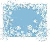 Winter,Vector,Frost,Snowflake,Pattern,Snow,Ice,Backgrounds,Blue,Elegance,Ornate,Cold - Termperature,Abstract,Clip Art,Variation,Design,Fractal,Full Frame,Season,Creativity,Ilustration,Copy Space,Art Product,Scale