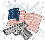 Gun Control,Shooting,Self-Defense,Handgun,Sketch,Vector,White,Pencil Drawing,Patriotism,Blue,Ilustration,second amendment,Objects/Equipment,Pistol,Semi-Automatic Pistol,Illustrations And Vector Art,Isolated,Drawing - Art Product,Election,USA,Doodle,Flag,American Culture,Fourth of July,bear arms,Holidays And Celebrations,Stand Your Ground,Red,Freedom,Bullet,Magazine - Firearms,Gun,American Flag,Independence,Defending,Liberty