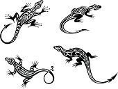 Iguana,Lizard,Salamander,Chameleon,Silhouette,Indigenous Culture,Tattoo,Animal,Symbol,Reptile,Mascot,Vector,Design Element,Cartoon,Tail Fin,Tail,Animal Skin,Art,Amphibian,Black Color,Nature,Reptiles,Ornate,Animals And Pets,Design,Curled Up,Decoration,White,Curve,Monster,Ilustration,Animal Scale,Scale,Abstract,Pattern,Shape,Wild Animals,Isolated,Sign,Backgrounds,Creativity,Vertebrate,Animals In The Wild,Part Of,Wildlife,Illustrations And Vector Art,Characters,Outline