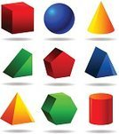 Three-dimensional Shape,Cylinder,Geometric Shape,Triangle,Pyramid Shape,Cube Shape,Cone,Sphere,Hexagon,Vector,Solid,Mathematical Symbol,Mathematics,Yellow,Pentagon,Geometry,Science,Red,Medicine And Science,Set,Platonic Solid,Green Color,Blue,Illustrations And Vector Art,Concepts And Ideas,Computer Graphic,Ilustration