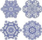 Mayan,Frame,Aztec,Repetition,Decoration,Pattern,Ornate,Victorian Style,Floral Pattern,Computer,Elegance,Sign,Set,Blue,Arts And Entertainment,Vector Florals,Ilustration,Antique,Painted Image,Vector,Circle,Backgrounds,Computer Graphic,Abstract,Arts Backgrounds,Ethnicity,Curve,Vector Ornaments,Illustrations And Vector Art,Style,Leaf,Swirl