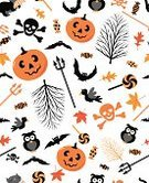 Halloween,Pattern,Autumn,Symbol,Pumpkin,Backgrounds,Bat - Animal,Bird,Seamless,Owl,Black Color,Design Element,Traditional Festival,Domestic Cat,Group of Objects,Human Skull,Skull and Crossbones,Leaf,Textile,Red Maple,Vitality,Design Objects,Human Skeleton,Orange Color,Sweet Food,Maple Leaf,skull crossbones,Wallpaper Pattern,Eagle Owl,Lollipop,Trident,Bare Tree,31 october,Abstract,Decoration,Wrapping Paper,Candy,Ornate,Big Mac Pumpkin,Crow,Animal