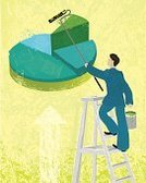 Green Color,Pie Chart,Painting,Business,Paint,Improvement,Finance,Variation,Arrow Symbol,Men,Growth,Above,Making,Repairing,Reaching,Vector,Yellow,Business Concepts,Creativity,Rolling,Solution,Looking Up,Businessman,Ladder,Messy,Paint Can,Moving Up,Spilling,Steps,Business,Wealth,Paint Roller,Business Symbols/Metaphors,Concepts,Ilustration,Blue,Strength,Clambering,One Person