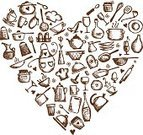 Cooking,Love,Food,Heart Shape,Doodle,Wine Bottle,Fork,Wine,Symbol,Tea - Hot Drink,Computer Icon,Cooking Pan,Apron,Crockery,Chef,Sketch,Pattern,Backgrounds,Domestic Life,Ilustration,Kitchen Knife,Spoon,Coffee - Drink,Cafe,Preserves,Plate,Plank,Bowl,Eggs,Vector,Shape,Coffee Cup,Silhouette,Cup,Bottle,Glass,Wallpaper,Mug,Teapot,Alcohol,Order,Drink,Wallpaper Pattern,Corkscrew,Tile,Table,Seamless,Set,Design,Vase