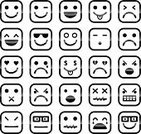 Smiley Face,Emoticon,Computer Icon,Smiling,Emotion,Human Face,Sadness,Happiness,Cheerful,Vector,Furious,Depression - Sadness,Displeased,Set,Characters,People,Avatar,Love,Cute,Anger,Men,Curiosity,Winking,Laughing,Black Color,Negative Emotion,Humor,Crying,Disappointment,Boredom,Sunglasses,Shiny,Silence,Loving,Screaming,Sticking Out Tongue,Caricature,Positive Emotion,Dreamlike,Shouting,Illustrations And Vector Art,Confusion,Ilustration,Vector Icons,Cartoon,Vector Cartoons,Fun,Isolated