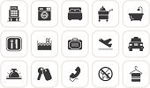 Symbol,Computer Icon,Laundry,Domestic Bathroom,Hotel,Business Travel,Simplicity,Pets,Travel,Airplane,Luggage,Comfortable,Service,Vector,Suitcase,Drink,Telephone,Airport,Bag,Food,Table Knife,Air Travel,Illustrations And Vector Art,Car,Bed,Swimming Pool,Bathtub,Taxi,Washing Machine,Set,Travel Locations,Vector Icons,Fork,People Traveling,Key,Collection,Ilustration,Holiday,Vacations