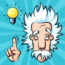 Albert Einstein,Intelligence,Teacher,Human Brain,Creativity,Scientist,Education,Male,Professor,Cartoon,Symbol,Motivation,Science,Humor,Inspiration,Imagination,Message,Fun,Positive Emotion,Physicist,Men,Learning,Thumb,Wisdom,Expertise,Electric Light,Ideas,Light Bulb,Satisfaction,Caricature,Human Finger,Looking,Thinking,Solution,University,Cute,Real People,Incentive,brainchild,Physics,evrika,knowledgeable,Success,Leading,Guidance,Pointing,Grotesque,Brainstorming,Vibrant Color,Discovery,Guide,Gesturing,Bright,Communication,Electric Lamp,Turquoise,Electricity,Characters,Senior Adult,Research,Old,Concepts,Mascot