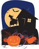 Halloween,Witch,Picture Book,Printing Press,Running,Mystery,Silhouette,House,Storytelling,Fairy Tale,Vegetable Garden,Bat - Animal,Window,Flower Bed,bine,Night,Light - Natural Phenomenon,Deep,Evil,Rudeness,Growth,Time,Large,Illustrations And Vector Art,Concepts And Ideas,Human Face,Halloween,Moon,Sky,Holidays And Celebrations,Smiling,Pumpkin,Ilustration,Urgency,Dark,Season