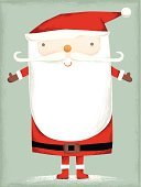 Santa Claus,Christmas,Greeting Card,Holiday,Beard,Doodle,Copy Space,Cute,Blank,Greeting,Drawing - Art Product,Season,hand drawn,Empty,Holiday Backgrounds,Holidays And Celebrations,Christmas,Celebration,Holiday Symbols,Santa Hat,Message,Smiling,Hat