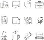 Sketch,Symbol,Computer Icon,Icon Set,Doodle,Computer Printer,Briefcase,Drawing - Art Product,hand drawn,Design Element,Business,Planning,Internet,Book,Questionnaire,Office Interior,Coffee Cup,Felt Tip Pen,Legal System,Laptop,Fax Machine,Ilustration,Web Page,Charcoal Drawing,Mug,Computer,Computer Monitor,Writing,File,Diary,Paper Clip,Human Resources,Sign,Coffee - Drink,Professional Occupation,Calendar,Occupation,Telephone Directory,Adhesive Note,Vector,Graph,Personal Organizer,Paper,Text,Bag,Document,Graphite Pencil,Correspondence,Cup,Pen,Contact Lens,Cartoon,Contract,Interface Icons,Expertise