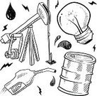 Gasoline,Doodle,Natural Gas,Gas,Oil Industry,Industry,Gas Station,Sketch,Oil,Oil Drum,Petroleum,Global Warming,Fuel and Power Generation,Vector,Barrel,Energy,Factory,Fossil,Ilustration,Electricity,Medicine And Science,Equipment,Recycling,Power,Isolated,Oil Well,Exploding,Drawing - Art Product,Objects/Equipment,Fuel Pump,Drilling,Light Bulb,Efficiency,Battery,Illustrations And Vector Art,Zapping,Fossil Fuel,Pencil Drawing