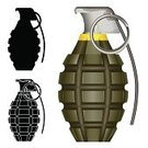Hand Grenade,World War II,Violence,Weapon,Army,Exploding,Grenade Pin,Fuse,Vector,Government,Explosive,Infantry,Industry,Illustrations And Vector Art,Destruction,shrapnel,Objects/Equipment,Armed Forces,War,Bomb,Military,Ilustration
